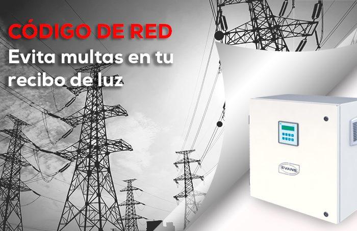 Evita multas en tu recibo de luz por el Código de Red